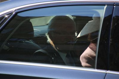 This is the King of Sweden Carl Gustav on his way to the castle