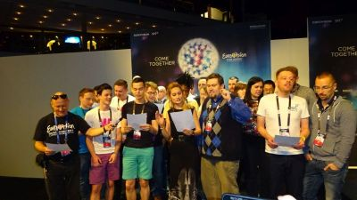 A tribute to the Ovidiu Anton from Romania who cannot compete this year