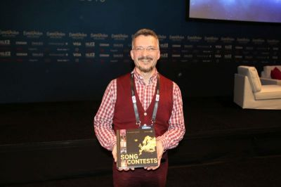 Dr Eurovision Irving Wolther has just released his ESC book