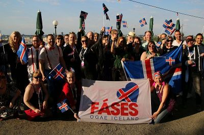 Fans from Iceland