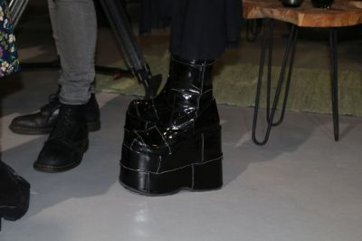 The most extravagant boot of the event